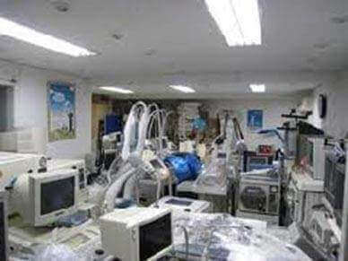 Medical Equipment to be Recycled