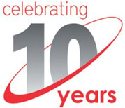 celebrating 10th anniversary