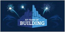 ten years of building