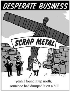 Scarp Metal cartoon